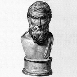 Philosopher Epicurus