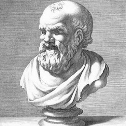 Philosopher Democritus