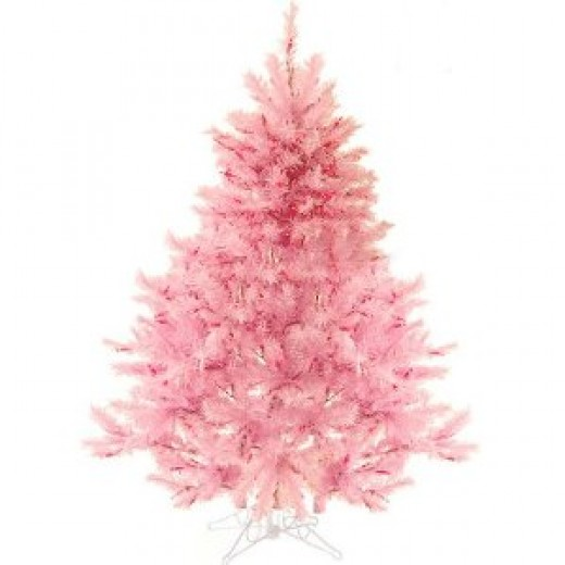 4.5' Pre-Lit Pretty In Pink Artificial Christmas Tree - Pink Lights