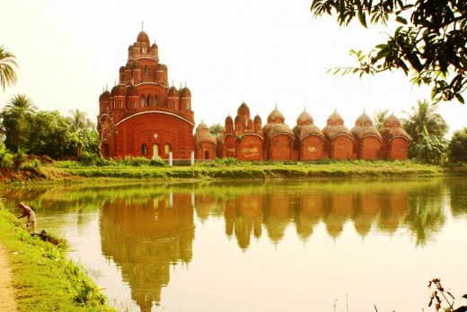 Ananda Bhairabi temple complex