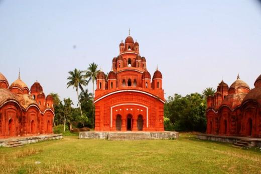 Ananda Bhairabi temple 1