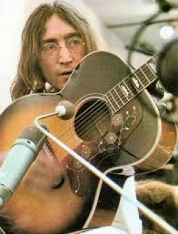 John Lennon and all the Beatles forever preferred Gibson and Epiphone guitars.