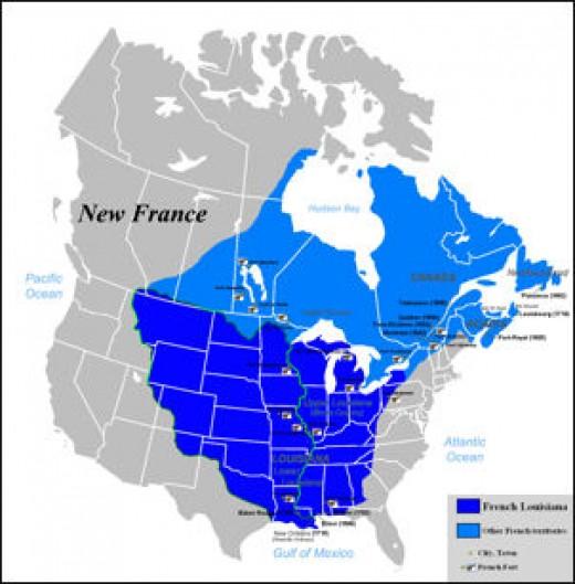 New France 1712