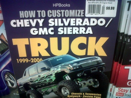 I saw this book at Kroger today and for some reason find it ridiculous, though I can't really put my finger on it.  I should channel my high school days and write one about S10s.
