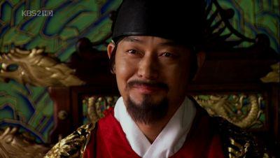 Jo Sung Hwa as King Jeongjo