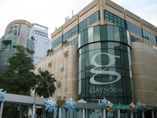 Gaysorn Department Store - Only luxury merchandise are found here
