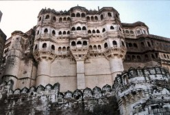 The fort dominates the surrounding plains and appears very majestic and  impregnable.