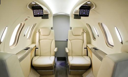 Hondajet Interior 1