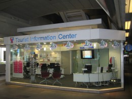 Bangkok Tourist Information Center in Siam BTS station