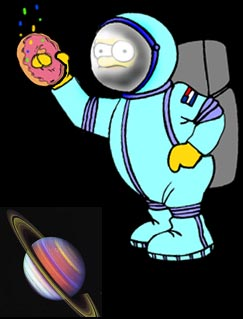 Homer's donut shaped universe