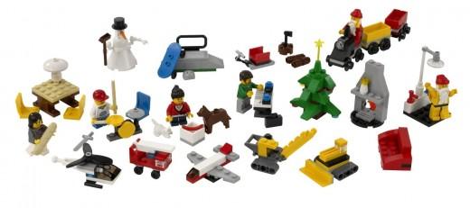 LEGO City Advent Calendar 2824 - Set contents
