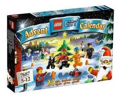 LEGO City Advent Calendar 7687 - Box