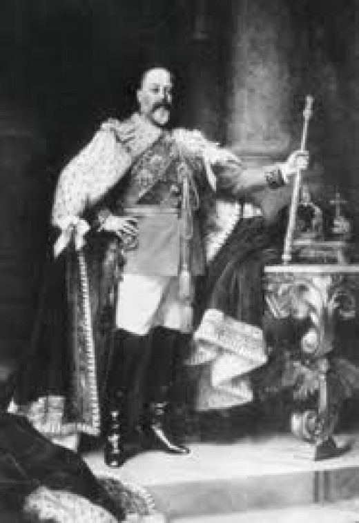 Edward VII. Not everyone welcomed him.