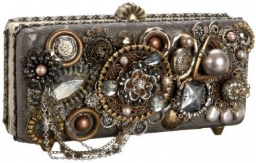 Mary Frances Accessories Pick Up The Pieces Clutch