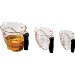 OXO Unique Good Grips Angled Measuring Cup, Set of 3