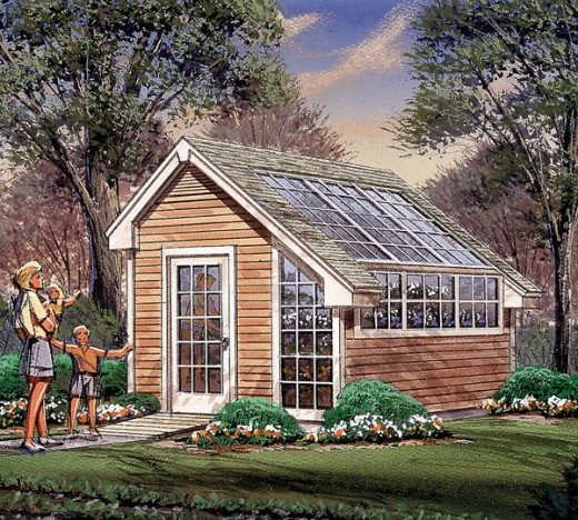 Home ideas plans greenhouse for House plans with greenhouse attached