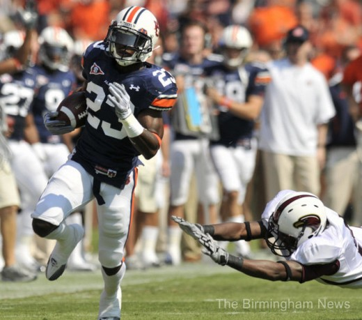 RB Onterio McCalebb (Auburn)