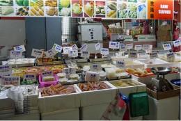 Sundry goods stall.