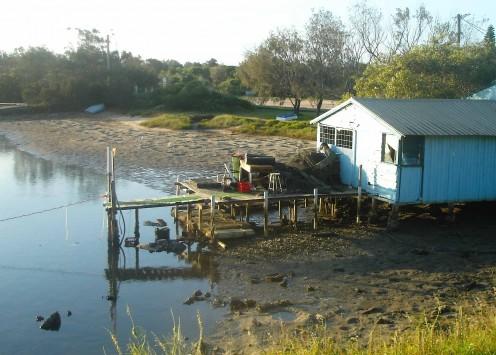 Old fishing dock at Yamba