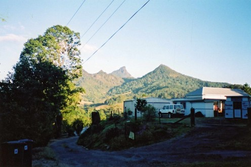 Woollumbin/Mt Warning, as viewed from Uki