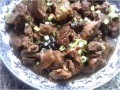 Sea Cucumber with Mutton.