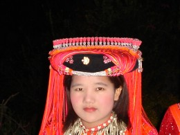 Young Lisu girl ready to find her husband.