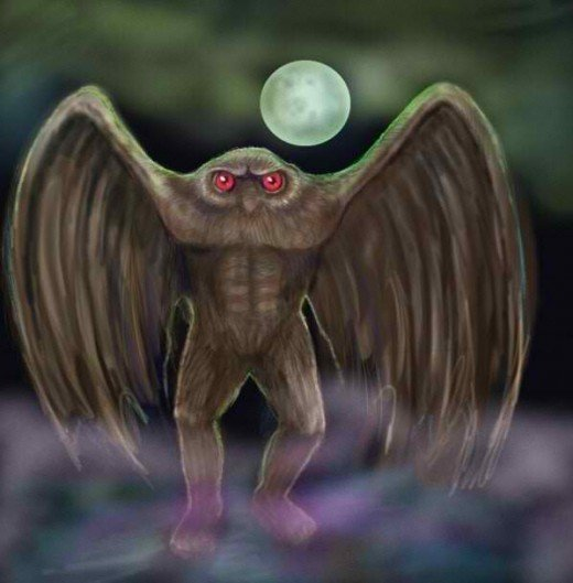 Mothman of Mt. Pleasant West Virginia