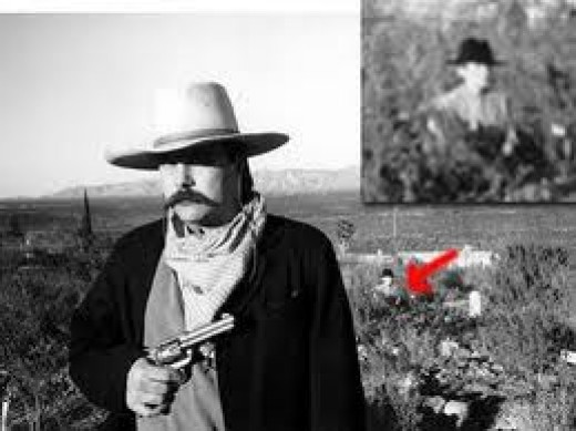 the famous classic picture of a ghost that appeared in a picture of a western picture