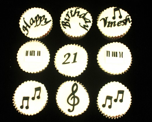 Musical notes, words and numbers cut using FMM Cutters