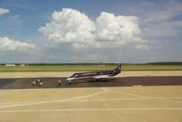 One Medivac plane - one runway