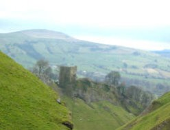 A romantic tale from Peveril Castle, Derbyshire