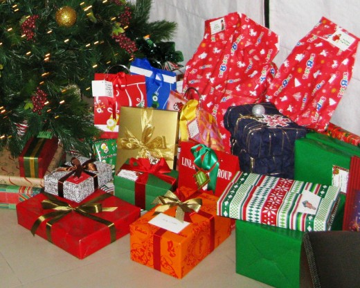 Gifts, gifts, gifts