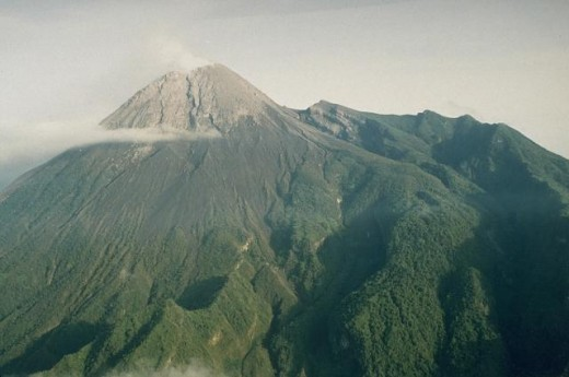 Merapi before eruption