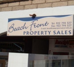 Beach front property sales