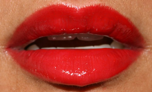 MAC red Russian lipstick