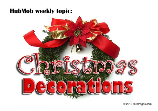 Weekly Topic: Christmas decorations