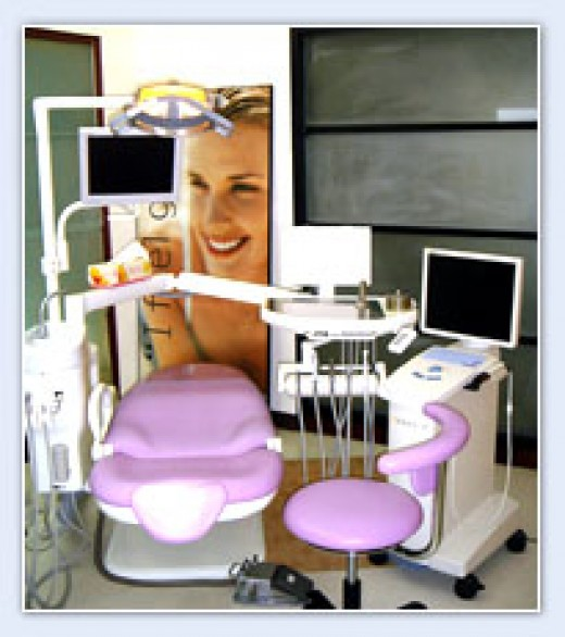 Exam room for fillings