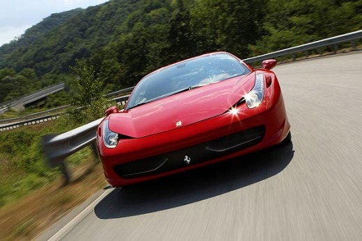 Get to drive the latest Ferrari 458 with a driving day!