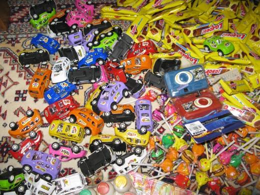 Mix mini toys