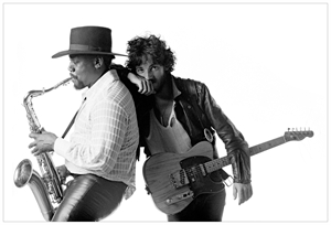 Born To Run - Clarence Clemons and Bruce Springsteen