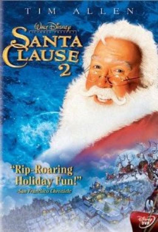 Tim Allen in The Santa Clause 2
