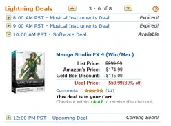 Amazon Lightning Deals