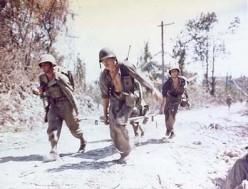 American troops on Peleliu