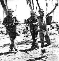 U.S Marines on Tarawa