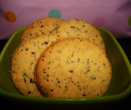 Mint biscuits