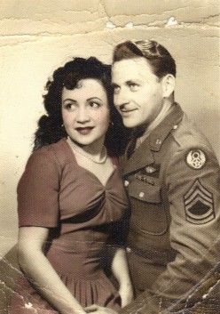 Dad and Mother in 1944