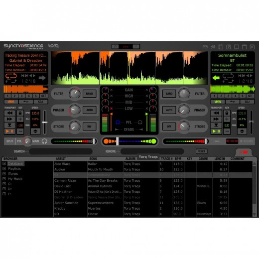 M-Audio Torq MixLab Digital DJ System Software