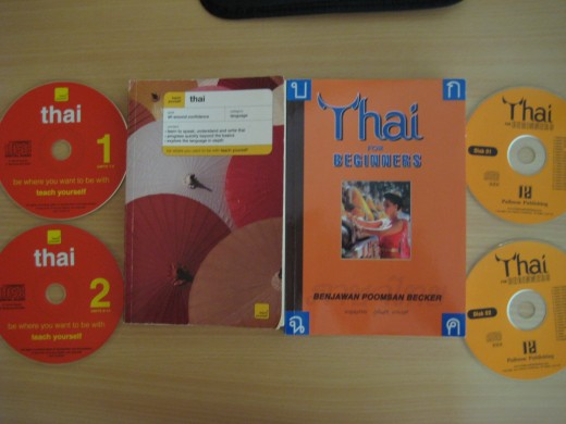 Books I used to start learning Thai