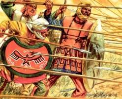 Anceint Persian warriors