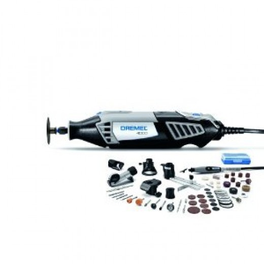 Dremel 4000-6/50 Speeds from 5,000 to 35,000 RPM Compatible with all Dremel accessories and attachments Includes 50 accessories 360-degree grip zone for control in any position Deluxe carrying case included